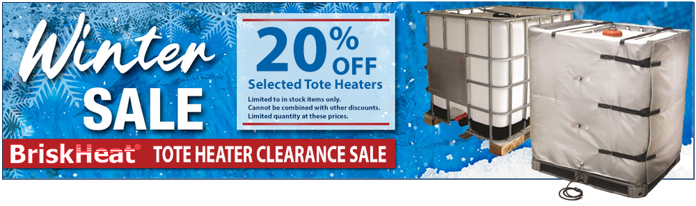 Tote heater sale up to 20% off